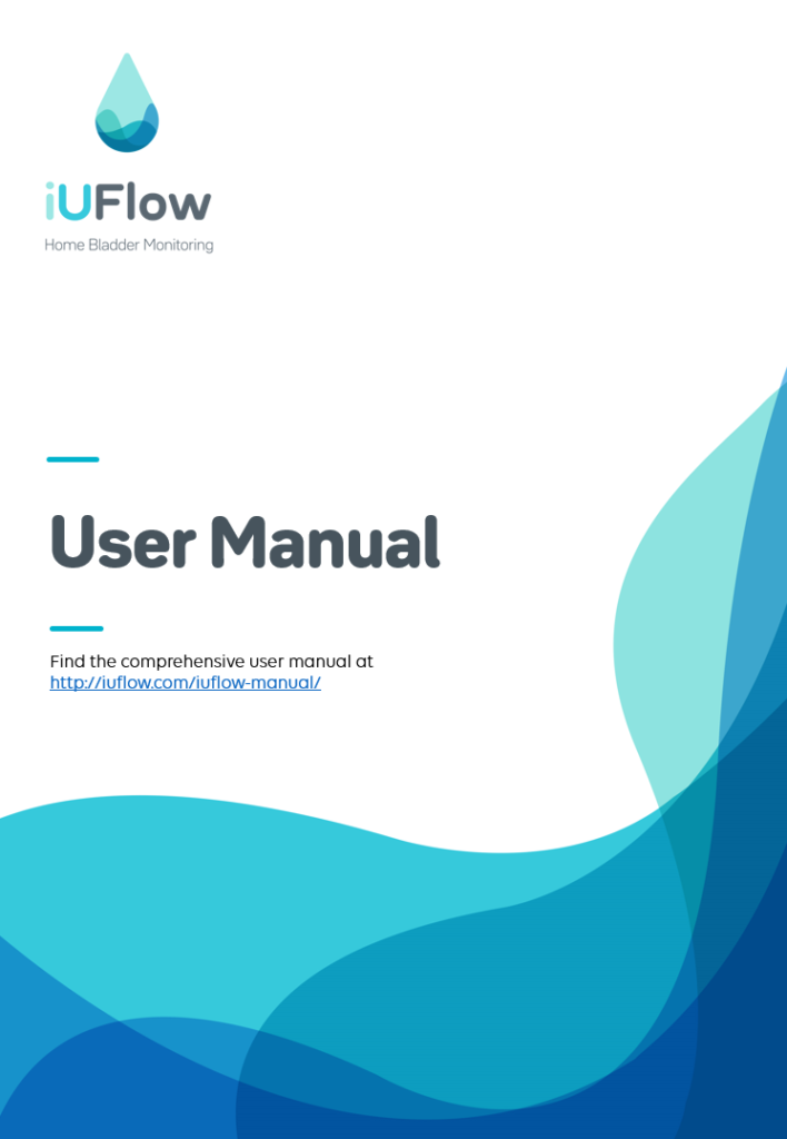 iUFlow Bladder diary app and device User Manual