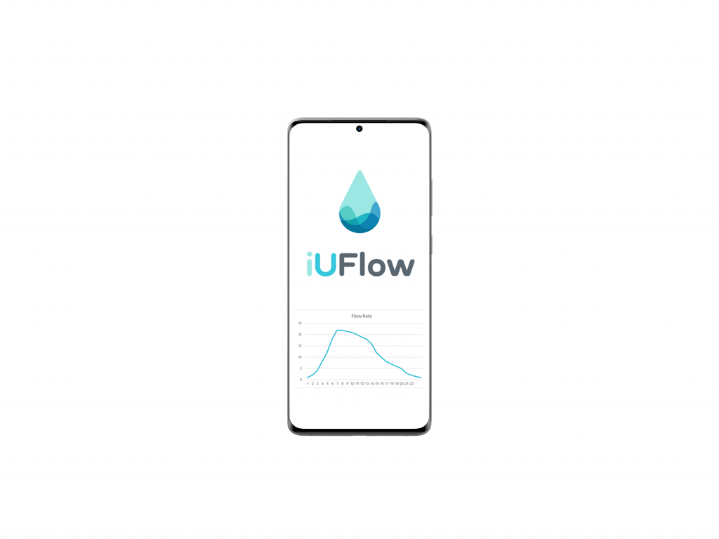 Urine tracker iUFlow uroflowmetry chart
