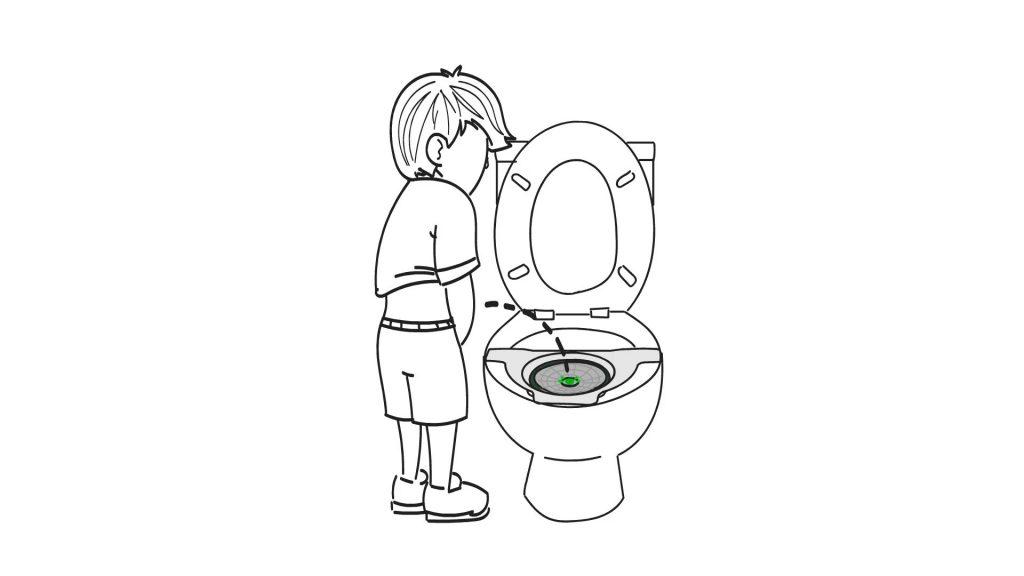 boy urine flow rate